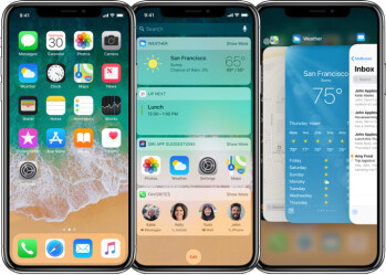 Image result for Mind the notch! Pros and cons of the iPhone X interface vs iPhone 8 (apps, video, browsing)