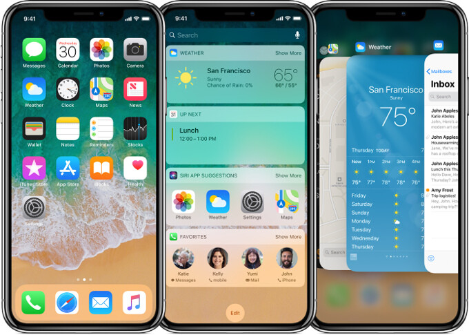 The new iPhone X design brings on some interface contortions that may become a staple in future iPhones - Mind the notch! Pros and cons of the iPhone X interface vs iPhone 8 (apps, video, browsing)