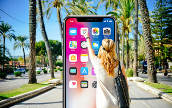 iOS 11 on the iPhone X removes the Reachability option for one-handed use