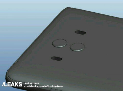 Alleged Mate 10 CAD renders