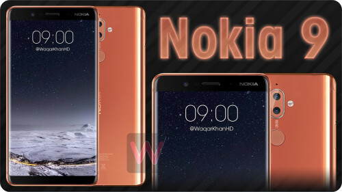 Nokia 9 renders by Waqar Khan
