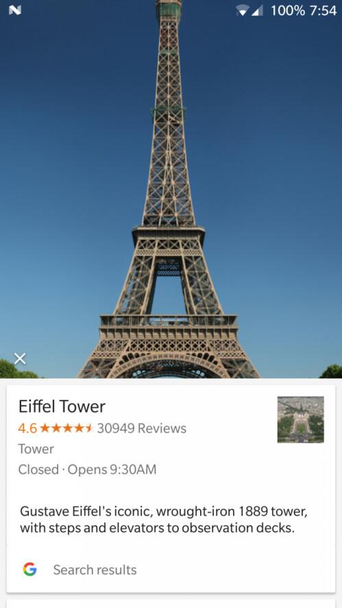 A few uses of Google Lens