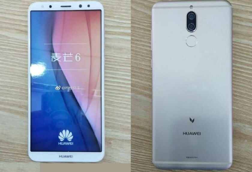 Alleged Huawei G10 - Huawei's first smartphone with 18:9 display leaks in live pictures