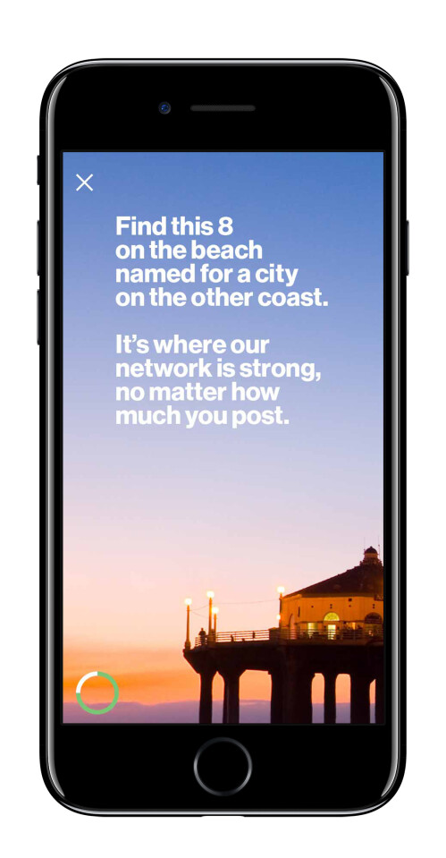 Use the clues to help you Find the virtual 8s and win an Apple iPhone 8