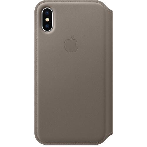 Apple iPhone X Leather Folio - $99