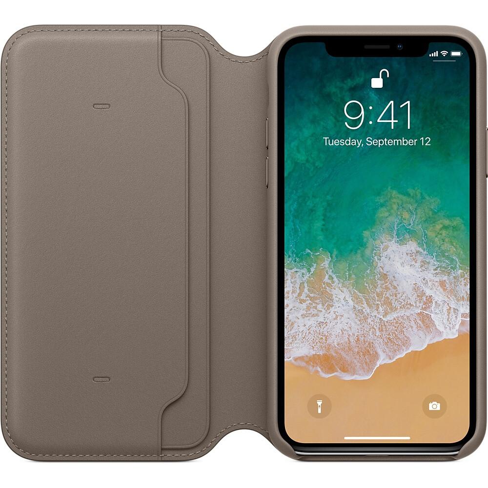 Etui Folio Apple Iphone X