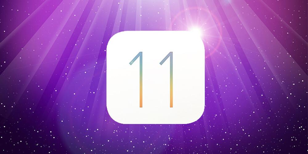 IOS 11 has arrived