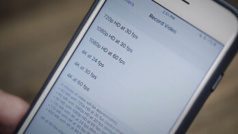 Apple's new high efficiency video codec fits a minute of 4K 30fps video in 170 MB, compared to 350 MB before