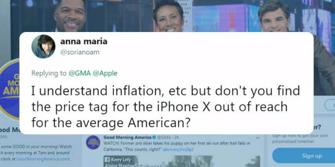 """iPhone X's $1000 cost? It's a """"value price"""", says Apple's Tim Cook"""