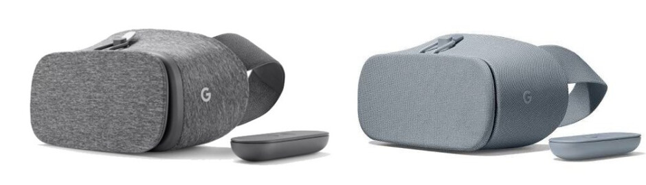 Old vs new - Google's new Daydream View VR headset leaks out: new materials, slightly higher price
