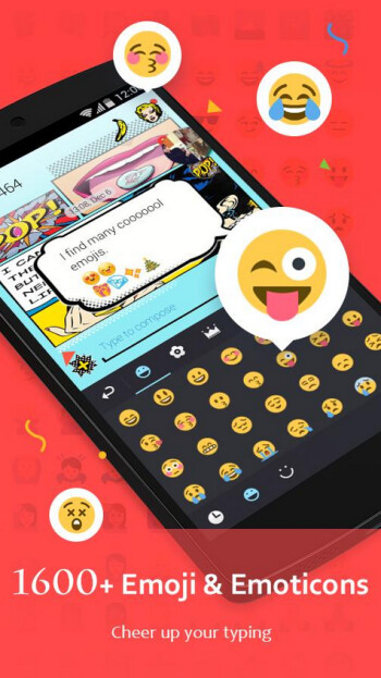 The GO Keyboard apps have over 200 million users who like to customize their texts using emoji and GIFs