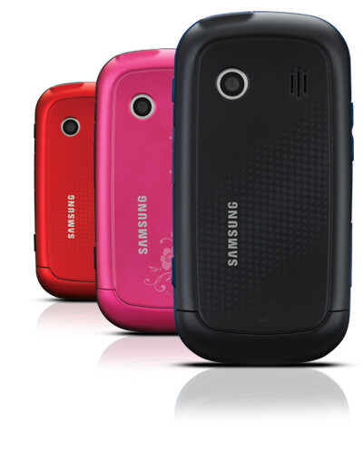 The Samsung Seek M350 will come in different colors - Samsung Seek will be Sprint's $30 touchscreen phone