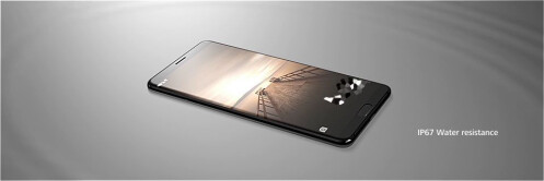 Alleged Huawei Mate 10 promo materials