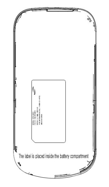 Rendering of the Samsung M910 that has appeared at FCC