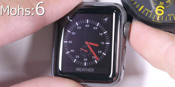 Watch a $1,300 sapphire Apple Watch Series 3 get scratched on camera