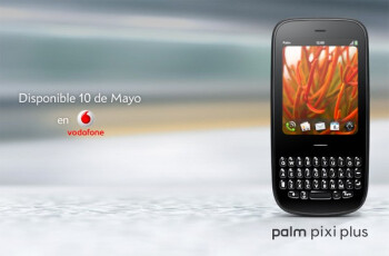 Palm Pixi Plus heading to Vodafone in Spain - no Palm Pre Plus for the ride