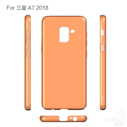 Alleged Samsung Galaxy A5 (2018) and A7 (2018) cases