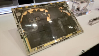 The new Surface Pro powered by the Intel Core i5 has built-in LTE support as seen by the six antenna at the top of the slate