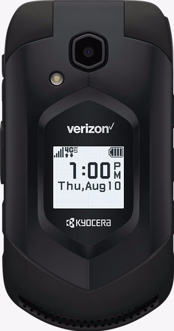 The rugged Kycoera Dura XV LTE has an IP68 certification rating