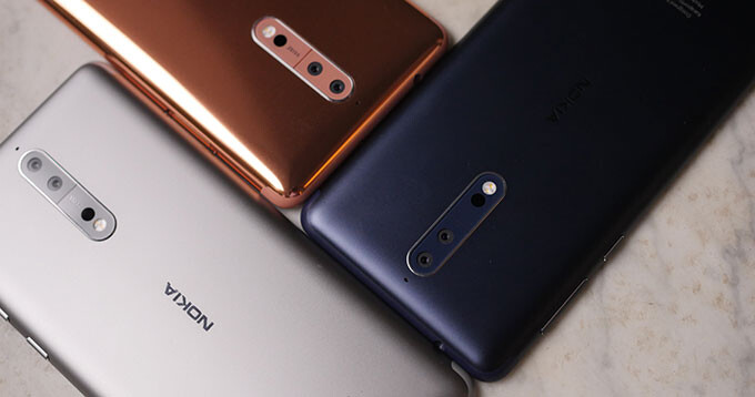 Nokia 8 expected to receive the Android 8.0 Oreo update in late October