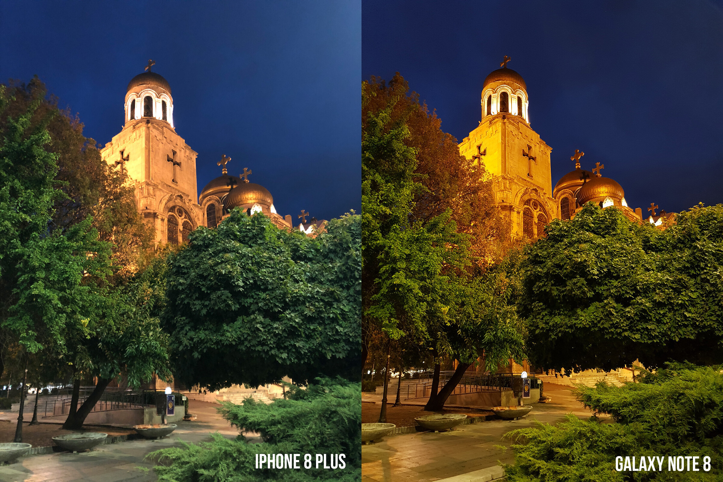 iPhone 8 Plus vs Galaxy Note 8 low-light camera comparison (cathedral) - image from iPhone 8 Plus vs Galaxy Note 8 low light camera shootout Which is ... & iPhone 8 Plus vs Galaxy Note 8 low-light camera comparison ... azcodes.com