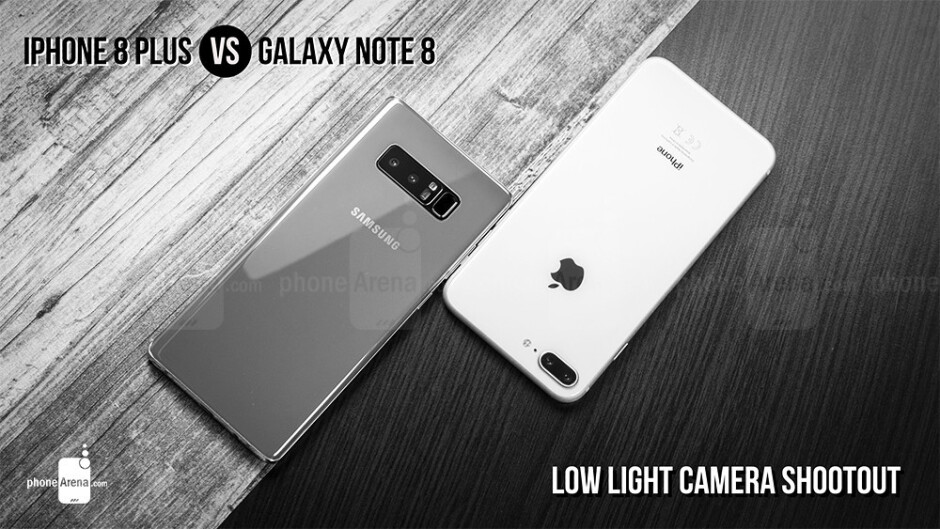 iPhone 8 Plus vs Galaxy Note 8 low light camera shootout: Which is better for taking photos at night?