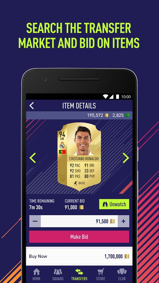 Fifa 18 Companion App
