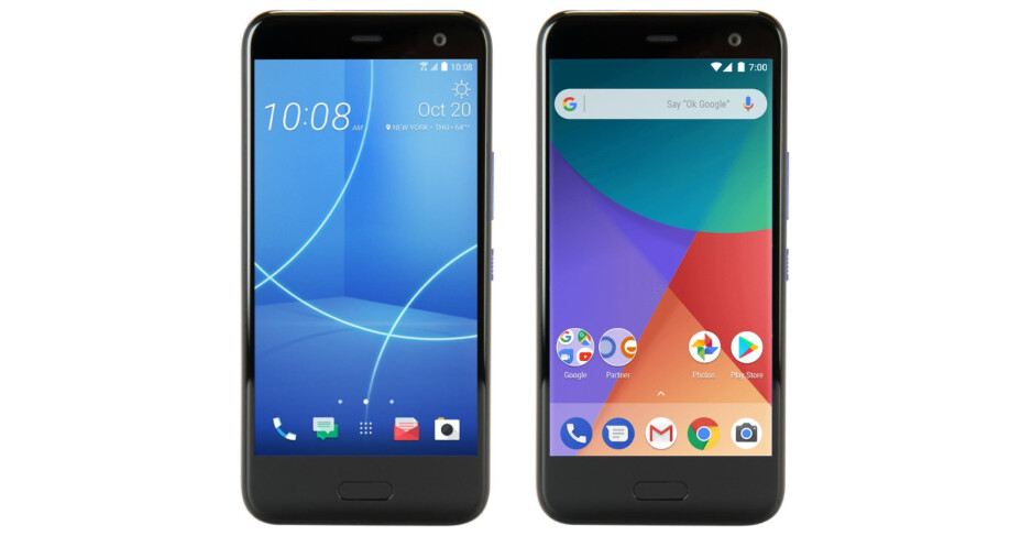 The U11 Life both in its regular and Android One variants - Specs for HTC's upcoming Android One device, the U11 Life, show up online