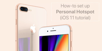 How to set up your iPhone as a personal Wi-Fi mobile hotspot (iOS 11 tutorial)
