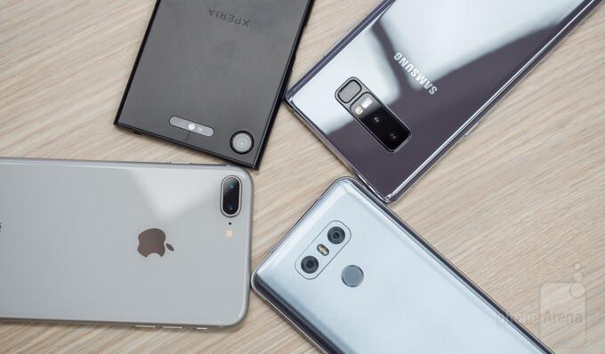 Best smartphone cameras compared: iPhone 8 Plus vs Galaxy Note 8, LG G6, Xperia XZ1