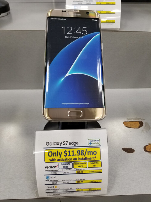 Samsung Galaxy S7 edge promotional offer