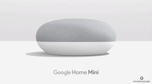 Google Home Mini in pictures