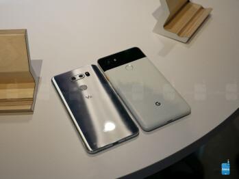 Google Pixel 2 XL vs LG V30: first look