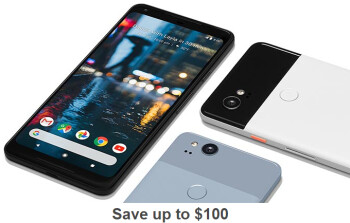Deal: Save $100 on a Google Pixel 2 (Verizon only)