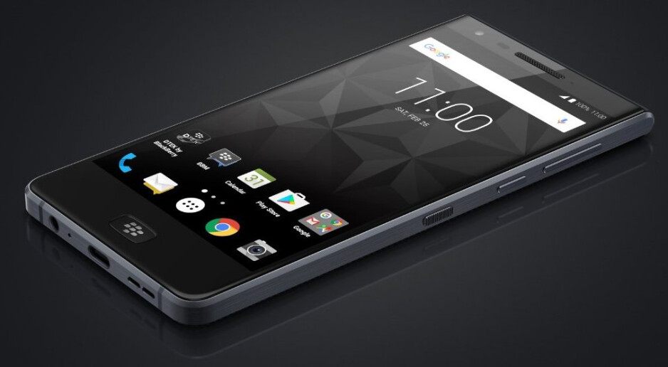 Meet the BlackBerry Motion (Krypton), possibly the first water-resistant BlackBerry phone