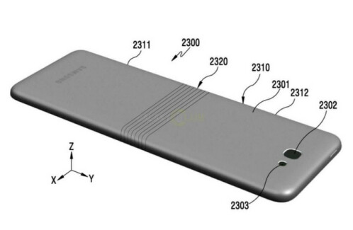 Samsung patent application from last November could have revealed the bendable Samsung Galaxy X