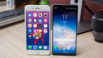 Two of the top contenders, the iPhone 8 Plus and the Samsung Galaxy Note 8