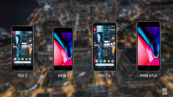 Pixel 2 and Pixel 2 XL vs iPhone 8 and iPhone 8 Plus: a specs comparison
