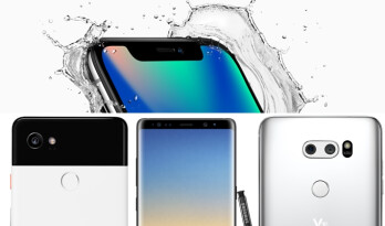 Apple iPhone X vs Google Pixel 2 XL vs Galaxy Note 8 vs LG V30: Specs and size comparisons