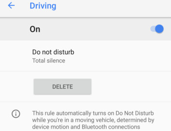 The Do Not Disturb feature on the Pixel 2 and Pixel 2 XL can prevent drivers from getting notified about incoming calls and texts