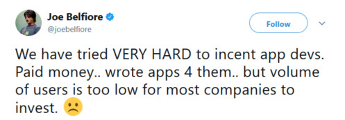 Even paying developers to close the app gap didn't help