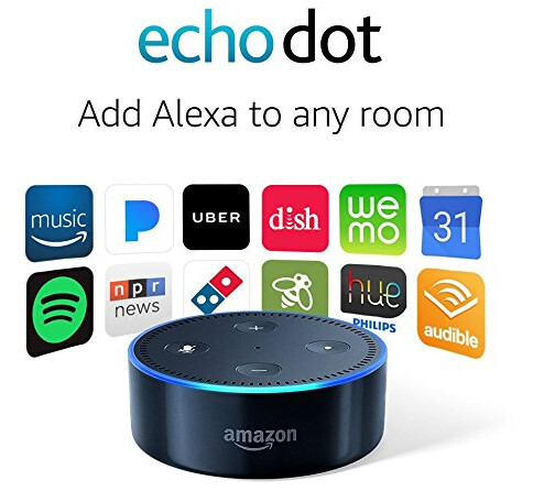 The Echo Dot is $44.99 with a 10% price cut