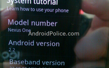 Thanks to Android 2.2, Nexus One runs 450  faster?