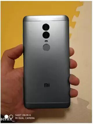 Xiaomi Redmi Note 5 leaked images