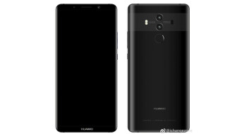 Here are a couple of more Huawei Mate 10 Pro renders before the October 16 announcement