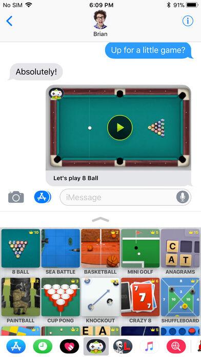 Die besten Chat-Apps und Spiele für iMessage