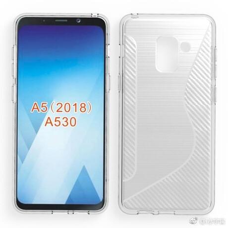 Terungkap! Penampakan Galaxy A5 2018 Tampil bak Galaxy S8