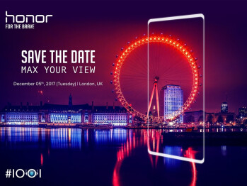 Honor to launch an unknown bezel-less device on December 5