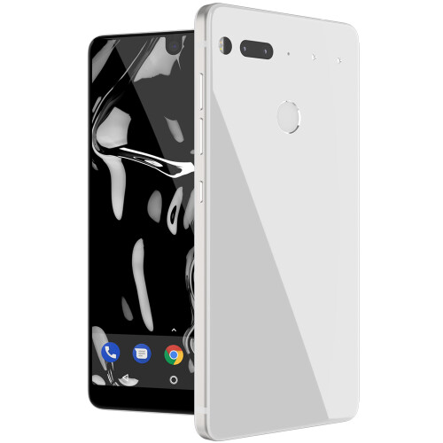 White Essential Phone