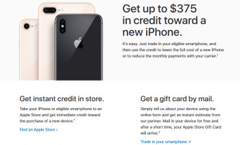 Apple can give you up to $375 for an iPhone 7 (Plus)